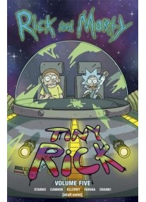 Комикс Rick and Morty Vol 5 - Tiny Rick Paperback