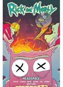 Комикс Rick and Morty Vol 3 - Headspace Paperback