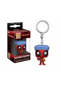 Funko Pocket POP Keychain BATHTIME DEADPOOL