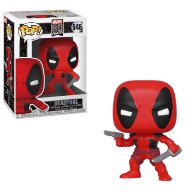 Фигура Funko POP Bobble Marvel: 80th-First Appearance: Deadpool Collectible
