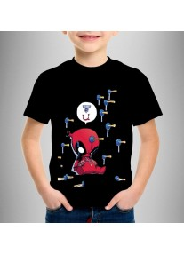 Детска тениска LITTLE DEADPOOL