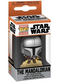 Ключодържател Funko Pop!The Mandalorian - Mandalorian with Jet Pack