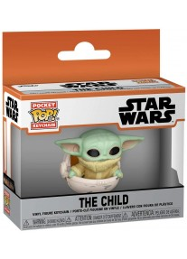Ключодържател Funko Pocket POP! Television: The Mandalorian - The Child (Canister)