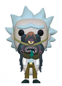 Фигура Funko Pop! Animation: Rick & Morty - Rick with Glorzo