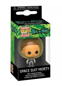 Ключодържател Funko Pocket Pop! Rick & Morty - Space Suit Morty