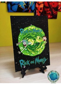 Тефтер А5 RICK AND MORTY