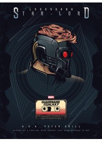 Постер за стена на Guardians of the Galaxy Vol. 2 - STAR LORD