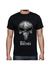 Мъжка тениска THE PUNISHER - NEW SKULL ART