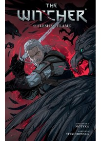 Комикс The Witcher Volume 4: Of Flesh and Flame Paperback – 1 Aug 2019