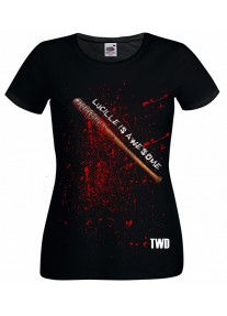 Дамска тениска на LUCILLE IS AWESOME - TWD