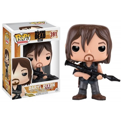 Funko Pop! Television: The Walking Dead - Daryl (Rocket Launcher) Action Figure
