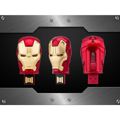Флаш памет - IRON MAN ( head ) - модел 1