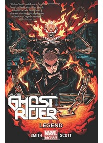 Комикс новелаAll-New Ghost Rider Volume 2: Legend